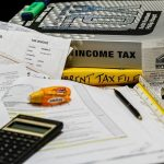 Image of Income Tax Calculation Calculate Paperwork Tax