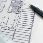 Image of Architecture Blueprint Floor Plan Construction