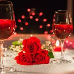 Image of Rose and Red Wine