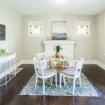 Image of Photo of Dining Room Setting