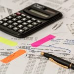 Image of Calculator Calculation Insurance Finance Accounting