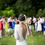 Image of Woman Girl Lady People Back Events Wedding Bride